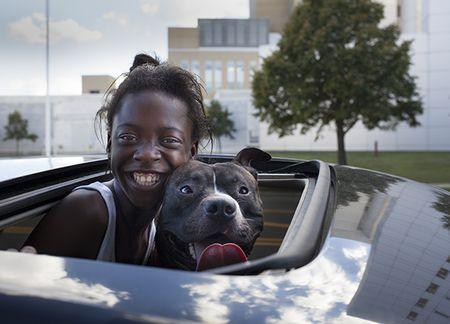 Girl and dog blog
