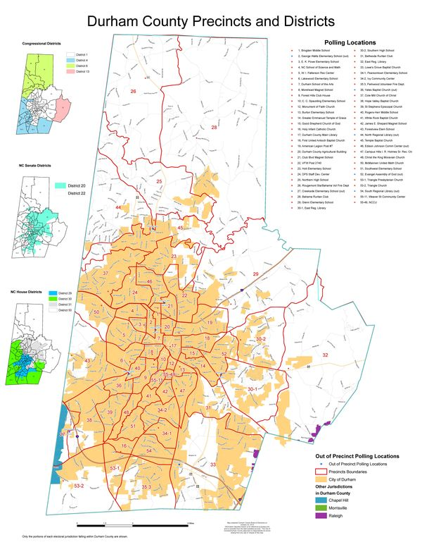 Bull City Rising Which District Will You Live In Public Hearing On